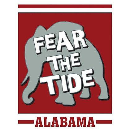 Fear The Tide Garden Flag 13 x 18
