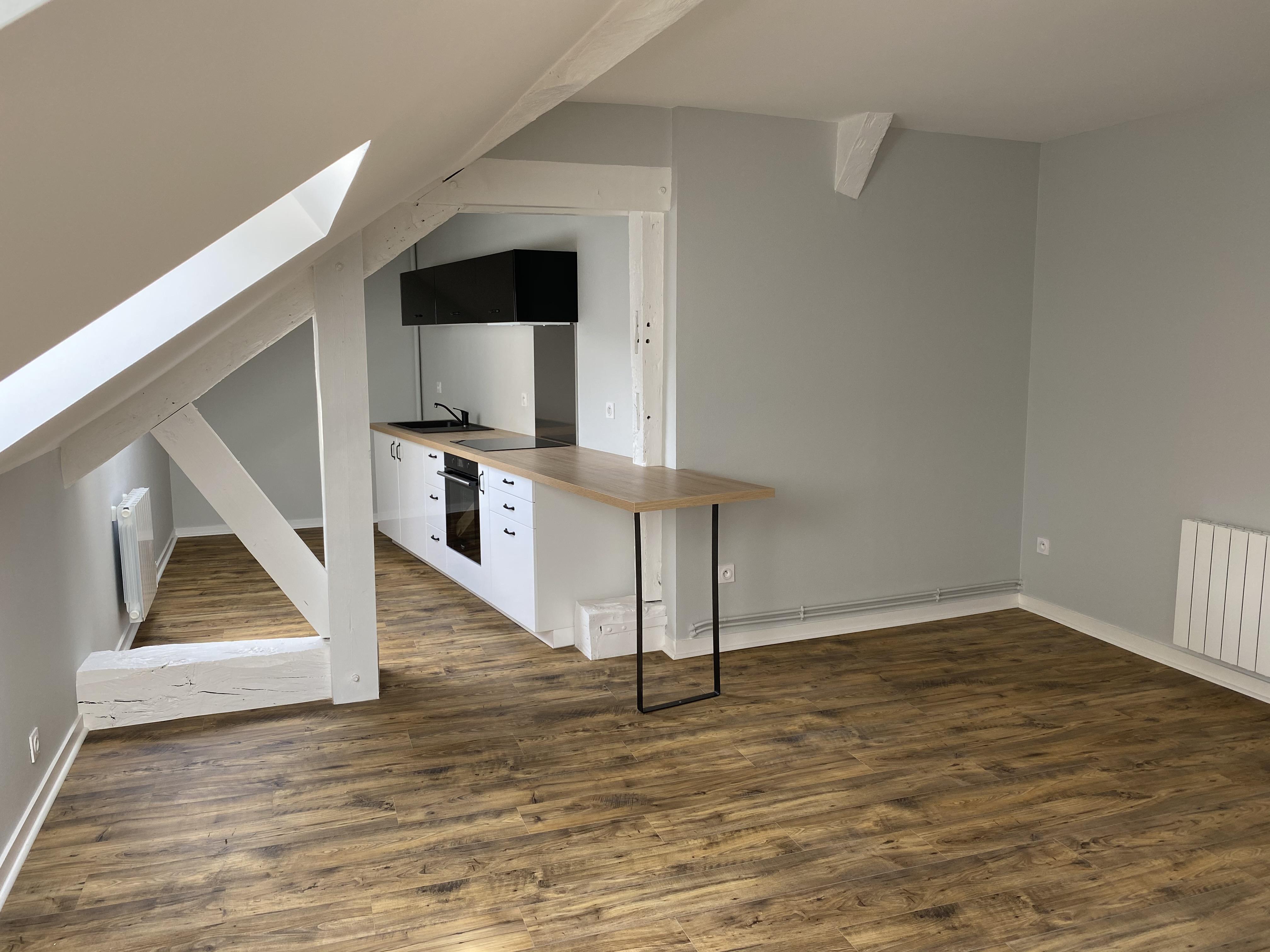Rénovation d'un immeuble (3 appartements) sur Angers