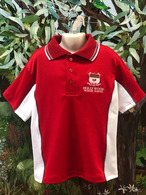 2020 Hollywood Red Polo Shirt