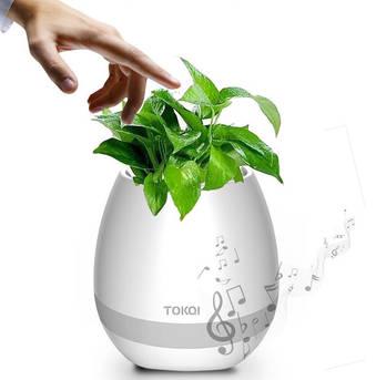 Music flower pot
