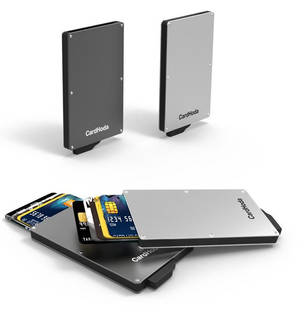 Metal Automatic card holder