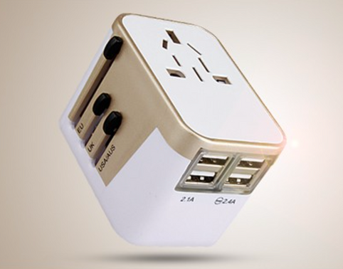 4USB travel adapter