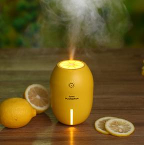Lemon mini humidifier