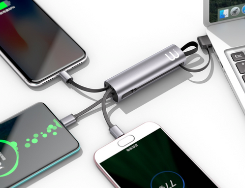 Metal 3in1 charging cable