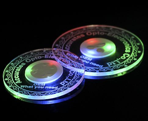 LED coaster