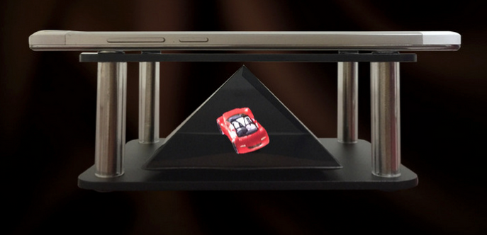 Mobile 3D Holographic projection