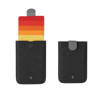 PVC pull tab card holder