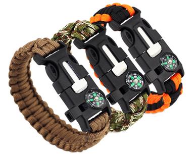 6in1 Camping Survival Bracelet