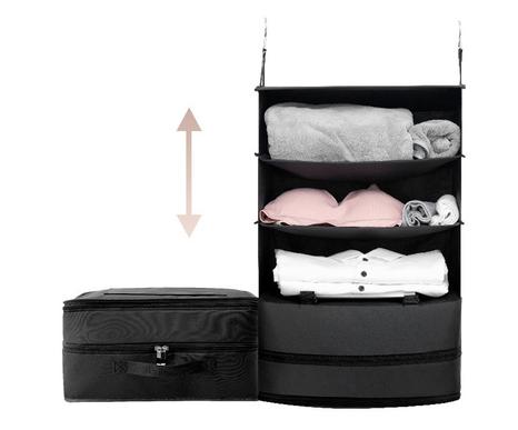 Travel foldable hanger bag