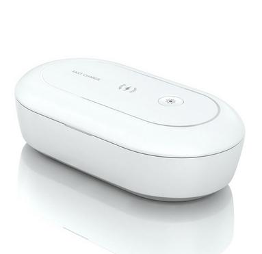Mobile phone wireless charging sterlizing box