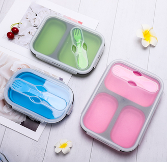 Foldable lunch box