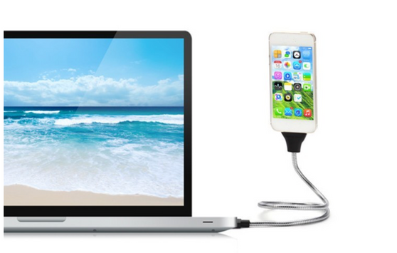 Flexible mobile USB cable