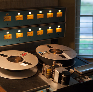 "Analog Tape Machine - 3M M79 2"" 16 track"