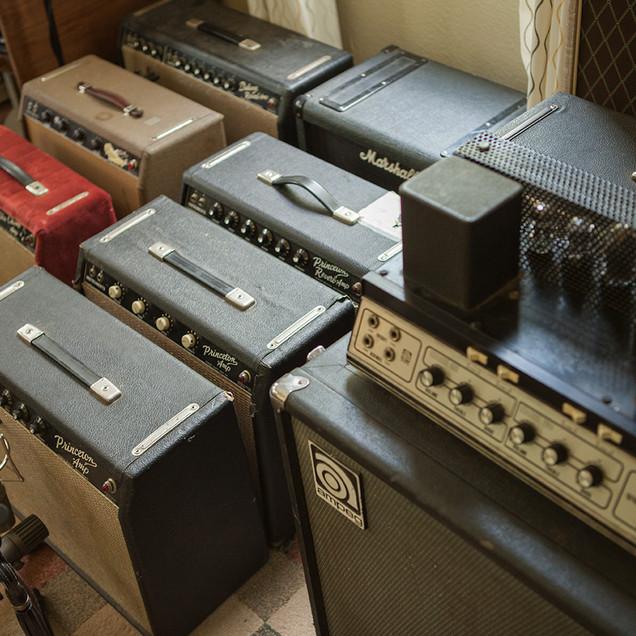 Vintage Amplifiers - Ampeg, Fender, Vox