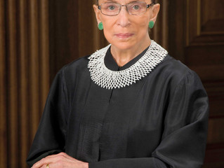 HALF-STAFF NOTIFICATION: Ruth Bader Ginsburg