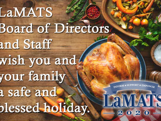 Thanksgiving Greetings from LaMATS