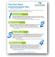 The Four Point Communications Plan