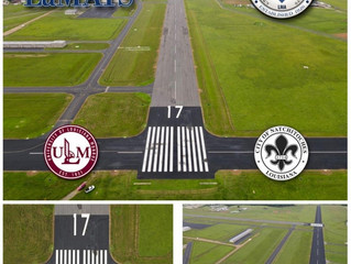LaMATS Drone Imaging Documents Natchitoches Airport Improvement