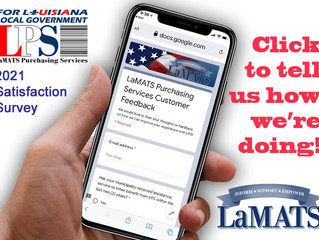 LaMATS Asks for Input on Purchasing Services