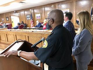 Efleets Receives High Marks at Opelousas City Council Meeting