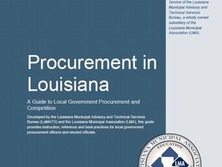 LaMATS Publishes Municipal Procurement Guide