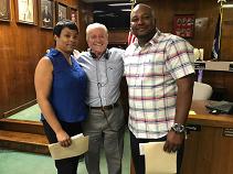 Baker Honors Councilman Heine's Rescuers