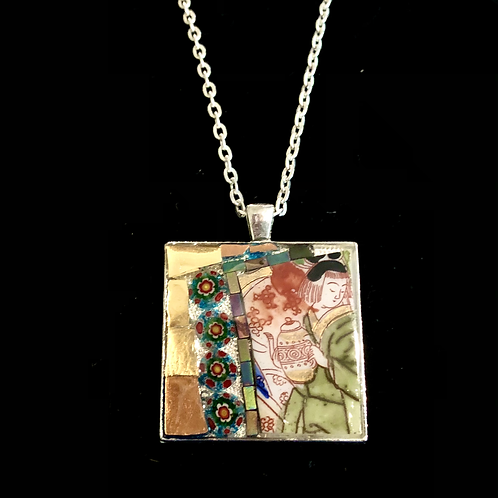 Large Square Necklace