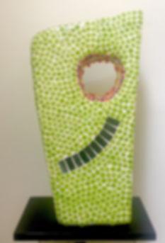 JanePettit_Springshine_mosaic sculpture_