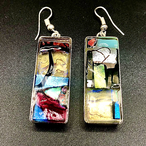 Long Rectangles Earrings