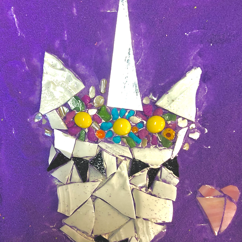 Unicorn Love Mosaic Kit