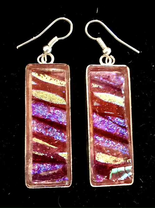 Long Rectangle Earrings