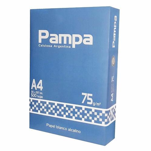 HOJAS RESMA A4 75GR PAMPA