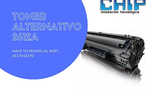 TONER ALTERNATIVO 2612A