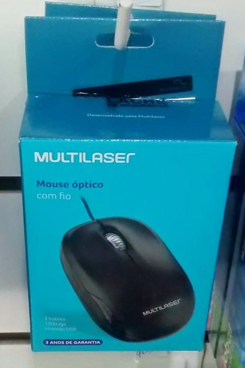 MOUSE OPTICO USB MULTILASER