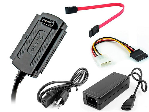 ADAPTADOR USB A IDE Y SATA - SEISA