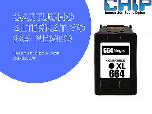 CARTUCHO ALTERNATIVO 664 NEGRO