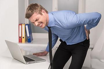 Dor lombar nas costas