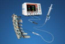 Aparelho para rizotomia percutânea por radiofrequência para tratamento da hérnia de disco lombar