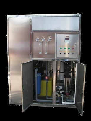 osmosis inversa para embasadoras en campos abiertos
