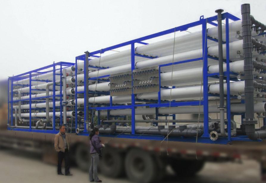 Transporte Módulos de destilización
