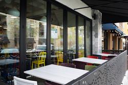 Patio Solunto outside dine in
