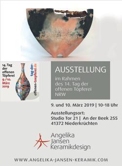 Anzeige Neue Keramik 2019