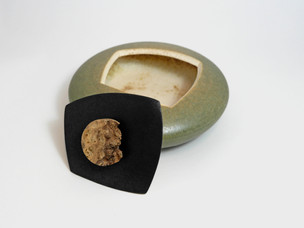 Grün/schwarze Dose