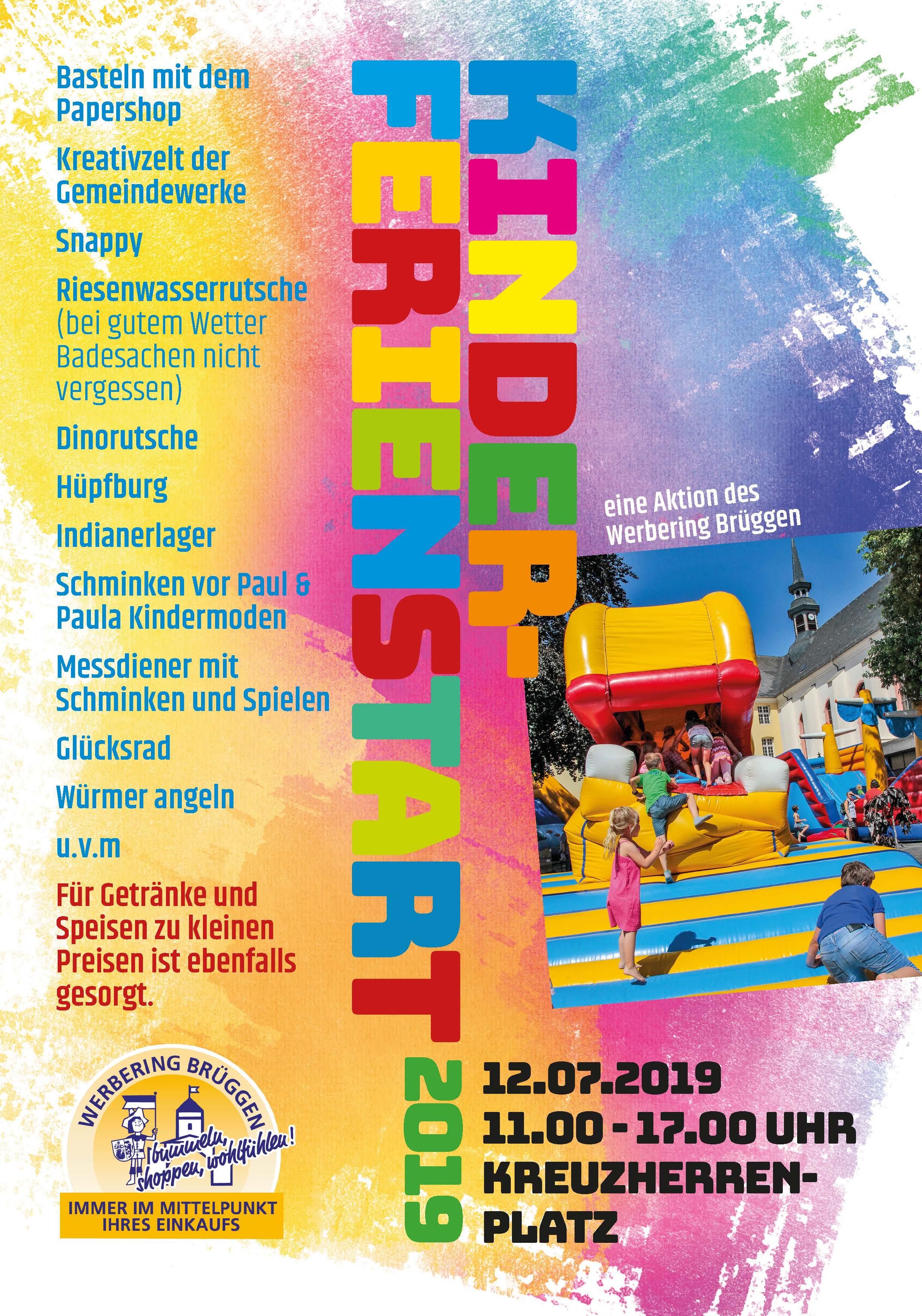 Kinderferienstart 2019 Plakat A3