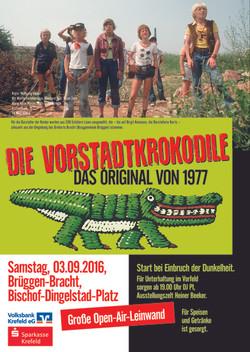 Plakat Vorstadtkrokodile A2