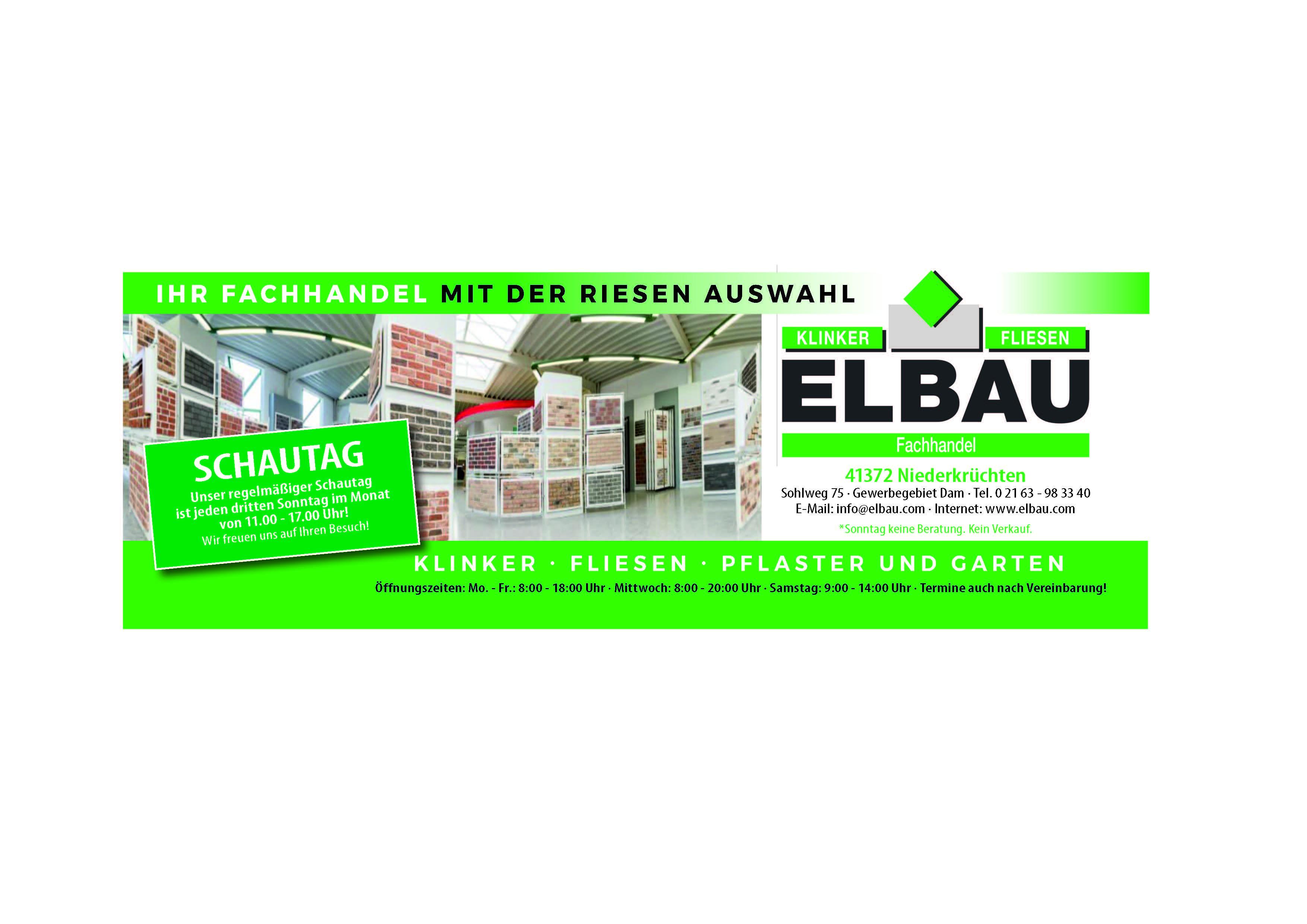ELBAU Anzeige 2018