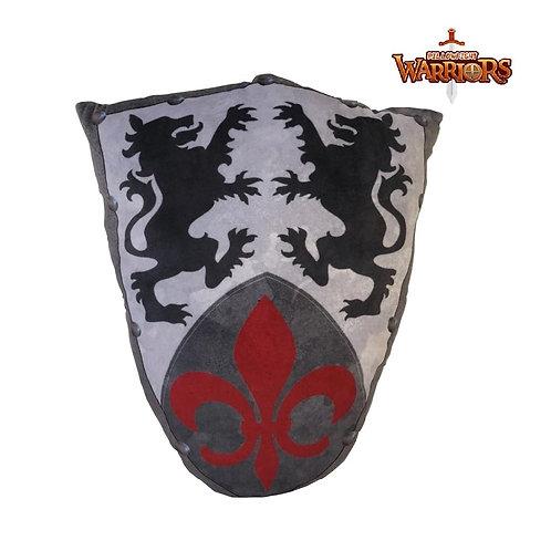Medieval Knights Fleur Shield