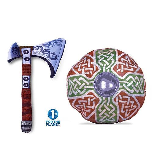 Viking Axe & Cross Set