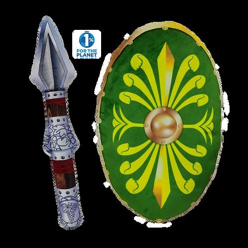 Roman Pilum & Clipeus Shield Set
