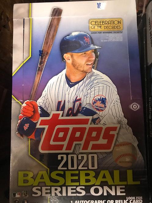 Break #1 - 2020 Topps Series One Baseball